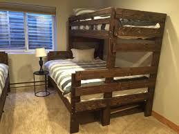 Wood Bunk Beds Plans by Bunk Beds Free Bunk Bed Plans Download Solid Wood Bunk Beds Full