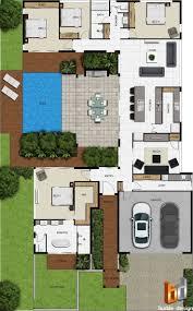51 best floorplan w courtyard images on pinterest architecture
