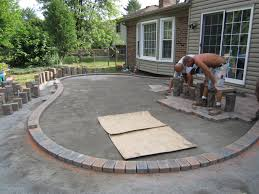 Backyard Cement Patio Ideas by Marvelous Concrete Patio Ideas For Small Backyards Pictures Design