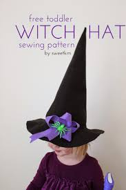 pattern witch costume sweetkm free toddler witch hat sewing pattern