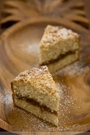 Coconut Streusel Coffee Cake with Pineapple Vanilla Filling
