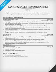 Banker Resume Example by Banking Resume Examples