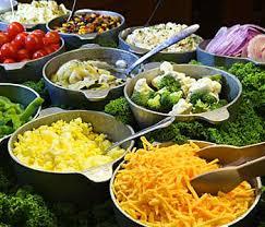 school salad bar