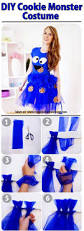 Cute Monster Halloween Costume by Cookie Monster Costume Tutorial Instructions On The Blog