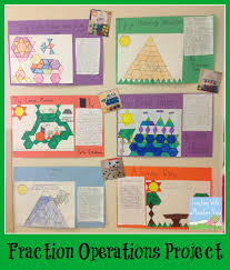 4th Grade Order Of Operations Worksheets Teaching With A Mountain View Fraction Operation Review Project