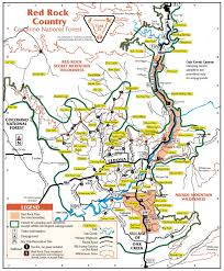 Payson Arizona Map by Map Of Sedona Arizona Area Hiking 365 Things To Do In Sedona Az