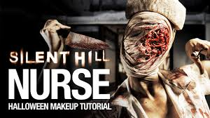 silent hill nurse halloween makeup tutorial youtube