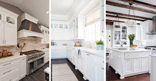 Cabinet Styles For Kitchen 46 Best White Kitchen Cabinet Ideas For 2017