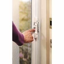 Magnet For Shower Door by Ideaworks Magic Magnet Screen Door Black Jb7513 Walmart Com