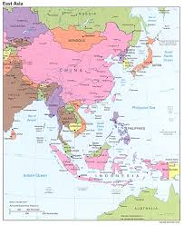 World Map Asia by Map Of Wast Asia China Russia Mongolia Japan South Korea