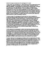 essay sample psychology Timmins Martelle