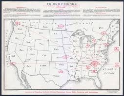 Hamilton Canada Map Union Made 1925 Hamilton Carhartt Cotton Mills Double Sided Invoice