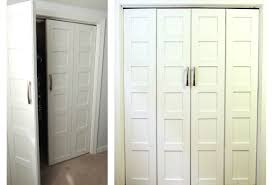 Bifold Closet Door Locks by Door Closet Door Installation Funnyjokes Cost To Install French