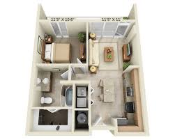 Single Bedroom Apartment Floor Plans by Floor Plans U0026 Pricing For Fiori On Vitruvian Park Vitruvian Park
