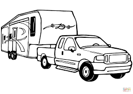 Old Ford Truck Coloring Pages - trucks coloring pages tipper truck is full of sand vintage page