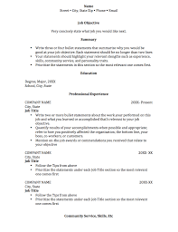 Student Resume Examples First Job by Resume Education Section Order