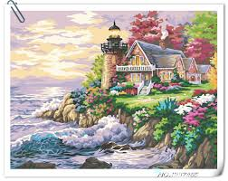 Decorative Lighthouses For In Home Use High Quality Lighthouse Paintings Promotion Shop For High Quality