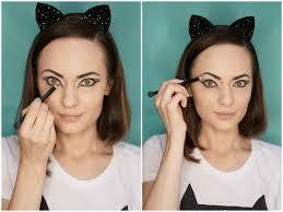 halloween easy cat makeup tutorial