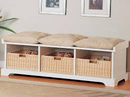 Ikea Wicker Baskets by Ikea Benches With Storage 133 Furniture Design On Storage Bench