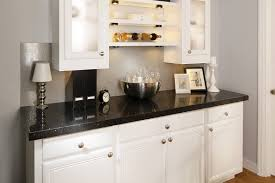 White Kitchen Cabinets With Black Granite Countertops by Bathroom White Kitchen Cabinets With Dark Granite Transformations