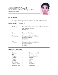 Blank Resume Examples Resume Sample Download Doc Resume For Your Job Application