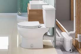 How Do Saniflo Up Flush Toilets Work QualityBathcom Discover - Plumbing for bathroom