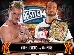 Chris Jericho vs CM Punk