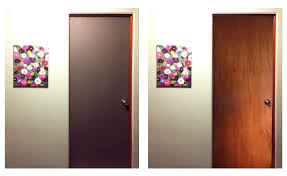 Large Interior Doors by Plastic Door With A Large Stained Glass For Bathroom