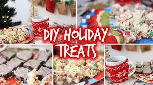 easy diy holiday party snacks u0026 christmas treats youtube