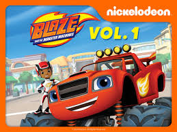 monster truck racing super series amazon com blaze and the monster machines volume 1 nolan north
