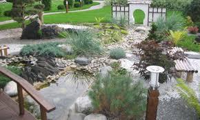 Backyard Rock Garden Ideas Backyard Landscape Design - Backyard river design