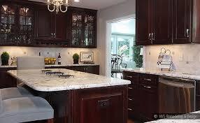 Kitchen Backsplash Ideas With Cherry Cabinets Kitchen Backsplash - Kitchen backsplash ideas dark cherry cabinets