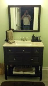 Glacier Bay Bathroom Vanity by Glacier Bay Ashland 36 In W X 19 In D Bath Vanity In Chocolate