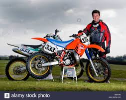 motocross dirt bikes twin shock vintage motocross rider mx dirt muddy with knobbly