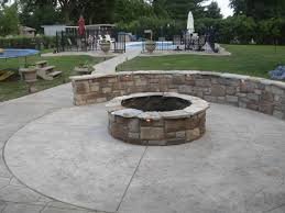 patio 9 incredible stamped concrete patio ideas images of