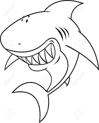 great white shark coloring pages amazing shark coloring pages