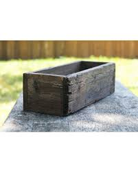 Shabby Chic Planters by Big Deal On 12 Rustic Planters Box 3 25 3 75h Short Version