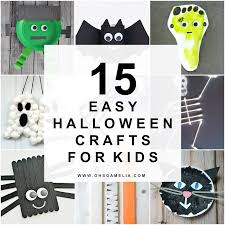 15 easy halloween crafts for kids oh so amelia