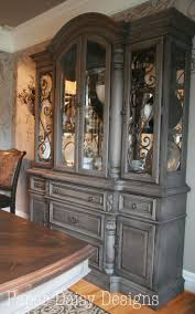 Painting Kitchen Cabinets Two Different Colors Best 25 China Cabinet Redo Ideas On Pinterest Painted China