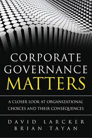 Corporate Governance Matters by David Larcker and Brian Tayan   st Ed    SlideShare