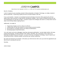 Financial Planner Resume Sample by Best Software Specialist Cover Letter Examples Livecareer