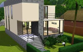Small Modern Houses by Mod The Sims A Small Modern Home