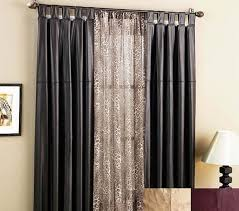 home design sliding glass doors with curtains window treatments