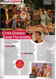 craig gannon on his time with the smiths mojo morrissey solo