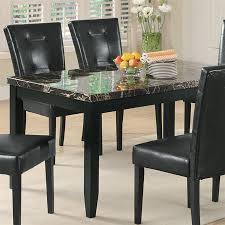 shop coaster fine furniture anisa faux marble dining table at