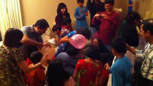 balakendra 2010 christmas party celebration balloon stuffing
