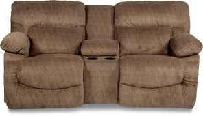 Lazy Boy Furniture Outlet Casual La Z Time Full Reclining Loveseat With Cupholder Console