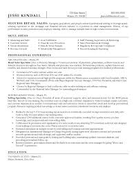 Area Sales Manager Resume Sample by Retail Resume Template Job 2016 Recentresumes Com