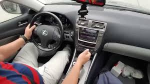lexus sports car manual transmission how to drive with paddles shifter tutorial lexus is250 youtube