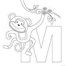 100 coloring page letters letter m coloring pages letter i